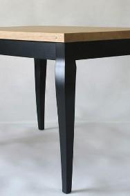 stół Luigi Nero, lite drewno, dąb szczotkowany, olejowany-2
