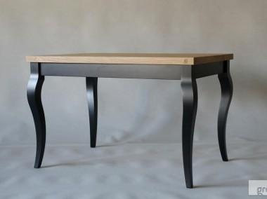 stół Luigi Nero, lite drewno, dąb szczotkowany, olejowany-1