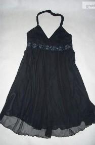Esprit wizytowa sukienka zwiewna koraliki 40 42-2
