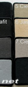 Citroen C4 Grand Picasso od 2006 r. 3 rzędy najwyższej jakości dywaniki samochodowe z grubego weluru z gumą od spodu, dedykowane Citroen C4-4