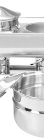 Stacja na zupę podgrzewacz 2 kociołki 2x4,5L-4