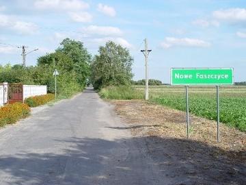 Działka siedliskowa Nowe Faszczyce