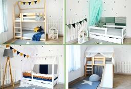 Łóżka drewniane dla dzieci - PRODUCENT MEBLI - oOomeble