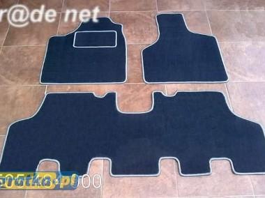 Dodge Grand Caravan 2001-2007 siedzenia stałe najwyższej jakości dywaniki samochodowe z grubego weluru z gumą od spodu, dedykowane Dodge Grand Caravan-1