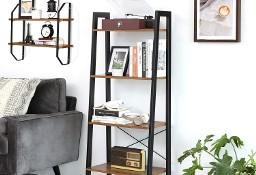 Regał industrialny, loft, rustykalny, z półkami