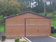Garaże blaszane, wiaty, hale, konstrukcje stalowe.