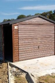 Garaże blaszane, wiaty, hale, konstrukcje stalowe.-2