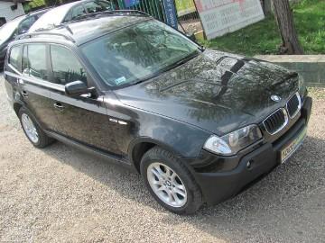 BMW X3 I (E83) 2.0d- 4x4 , zadbany użytkowany przez kobietę.