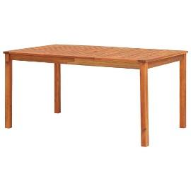 vidaXL Stół ogrodowy, 150x90x74 cm, lite drewno akacjowe 45962