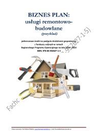 BIZNESPLAN usługi remontowo-budowlane 4 (przykład) 2018