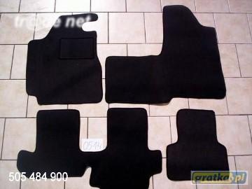 Fiat Multipla najwyższej jakości dywaniki samochodowe z grubego weluru z gumą od spodu, dedykowane Fiat Multipla