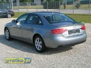 Audi A4 IV (B8) 2.0 TDI A143 KM , BEZWYPADKOWY , , ALU ,NAWI