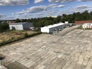 PLAC UTWARDZONY płytami i biura - 30 ar. ul.Podkarpacka -boczna - dojazd TIR