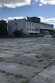 PLAC UTWARDZONY płytami i biura - 30 ar. ul.Podkarpacka -boczna - dojazd TIR -2