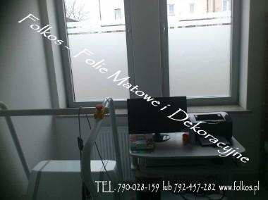 Folie matowe na okna -Błonie ,Ożarów Mazowiecki,Bronisze....Folkos folie okienne-Oklejanie szyb folią -1