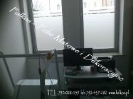 Folie matowe na okna -Błonie ,Ożarów Mazowiecki,Bronisze....Folkos folie okienne-Oklejanie szyb folią