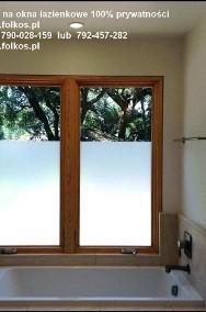 Folie matowe na okna -Błonie ,Ożarów Mazowiecki,Bronisze....Folkos folie okienne-Oklejanie szyb folią -2