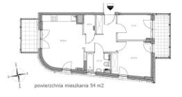 Mieszkanie do wynajęcia Warszawa Ursynów ul. Wilhelma Konrada Roentgena – 54 m2