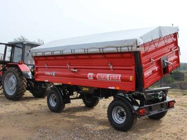 Przyczepa / Przyczepy rolnicza dwuosiowa T710 6t lub 8t METAL-FACH-1