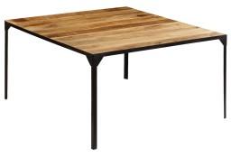 vidaXL Stół jadalniany z litego drewna mango, 140 x 140 x 76 cm246628