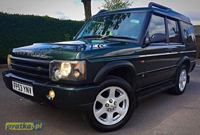 Land Rover Discovery II ZGUBILES MALY DUZY BRIEF LUBich BRAK WYROBIMY NOWE