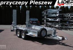 LT-103 przyczepa 350x180x27cm, do przewozu minikoparki, sprzętu budowlanego, DMC 3500kg