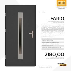 Drzwi wejściowe stalowe SETTO model FABIO PLUS