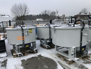 SUPER JAKOŚĆ Mixer betoniarka ciągnikowa KOŁASZEWSKI hydrauliczna elektryczna na WOM do ładowarek