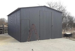 Garaż blaszany wzmocniony hala wiata 5x5 blacha kolor