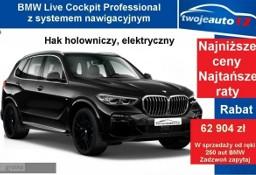 BMW X5 G05 xDrive40i Pak. sportowy M, Pakiet Business Class+Hak