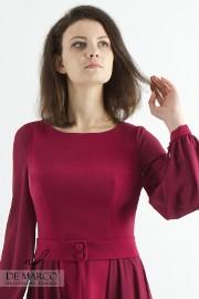 Piękna sukienka na ekskluzywną imprezę firmową, Szycie na miarę unikatowej odzieży damskiej De Marco