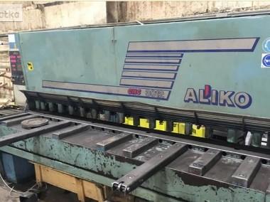 gilotyna 12x3000, hydrauliczna firmy Aliko-1