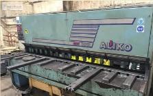 gilotyna 12x3000, hydrauliczna firmy Aliko