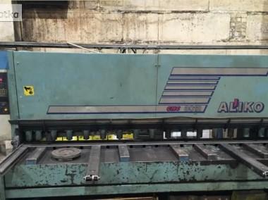 gilotyna 12x3000, hydrauliczna firmy Aliko-2
