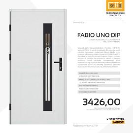 Drzwi zewnętrzne stalowe SETTO model FABIO UNO DIP 92