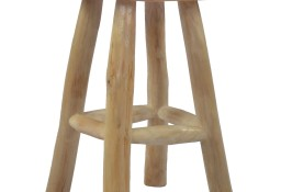 vidaXL Stołek, brązowy, drewno tekowe281637