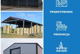 Konstrukcje stalowe, wiaty, magazyny, hale produkcyjne - wymiary 18x26x5