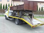 transport ciągników maszyn rolniczych budowlanych wyjazdy 24h F-Y VAT