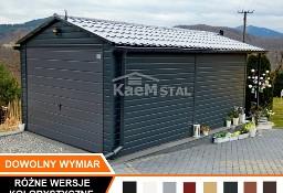 GARAŻ blaszany 3,5x6 blaszak biały grafit antracyt garaże blaszane producent garaży