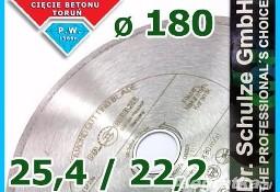 Tarcza diamentowa FL-S fi 180 25.4 i 22.2 Glazura Kamień Gres