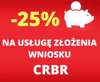 PROMOCJA!  -20% na pomoc w zgłoszeniu do CRBR! Przygotujemy i złożymy wniosek! Sprzedam spółkę