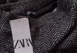 (36/S) ZARA/ Dzianinowe spodnie biznesowe z Madrytu/ NOWE