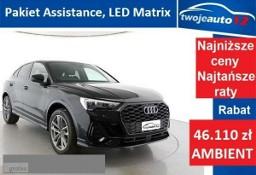 Audi Q3 II Sportback S Line 35 TFSI S tronic bogaty 0% wpłaty Rata 1736 zł