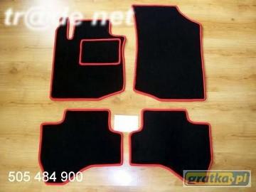 Citroen C1 od 2005 do 2014 r. hb najwyższej jakości dywaniki samochodowe z grubego weluru z gumą od spodu, dedykowane Citroen C1