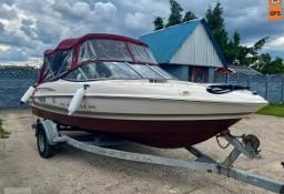łodzie motorowe Łódz motorowa 8 osobowa o mocy 140KM stan idealny zadbany zamiana