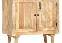 vidaXL Szafka, 75 x 35 x 75 cm, lite drewno mango286240
