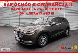 Mazda CX-9 AUTOMAT + 4x4 + 7 OS. + Navigacja + 100% Serwis MAZDA !!!