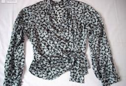 Windsmoor Elegancka Koszula Bluzka 36 38 Czarno Biała
