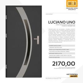 Drzwi wejściowe stalowe SETTO model LUCIANO UNO PLUS