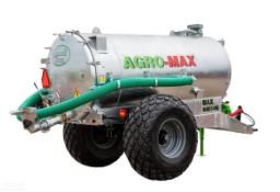 Beczkowóz wóz asenizacyjny jednoosiowy tandem agro-max